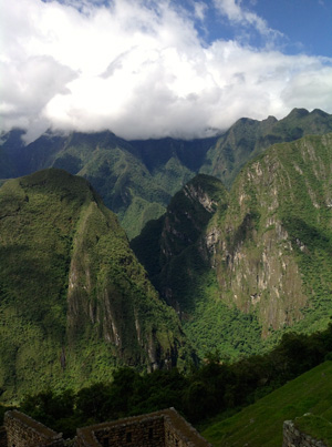 Ceremonies in Machu Picchu